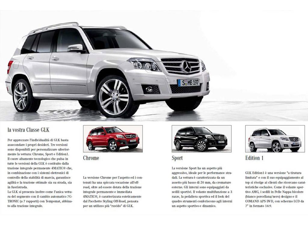 Mercedes Benz – Glk