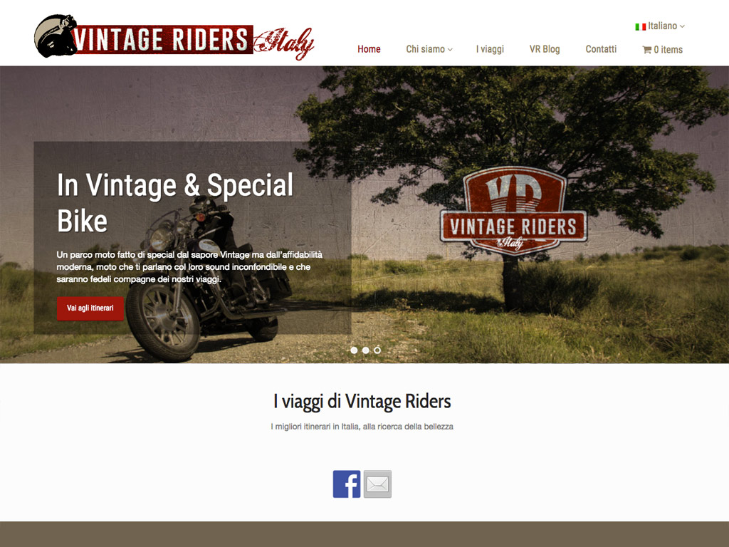 Vintage Riders – Web Site
