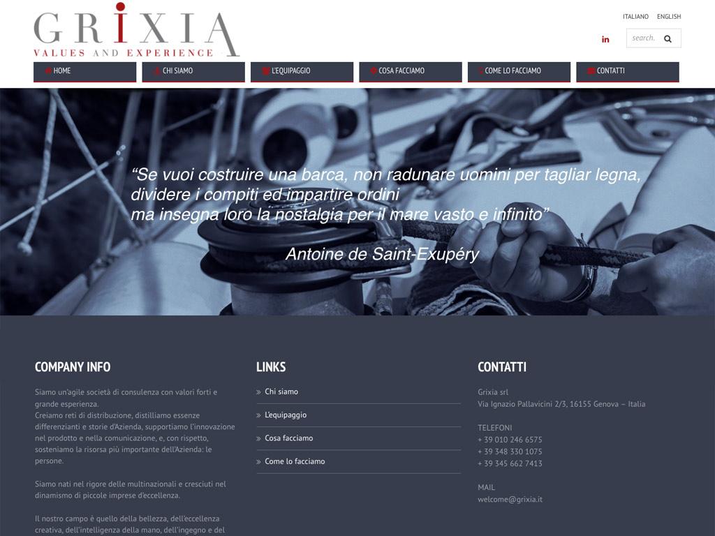 Grixia – Web Site