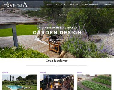 Hortensia Garden Design – Web Site