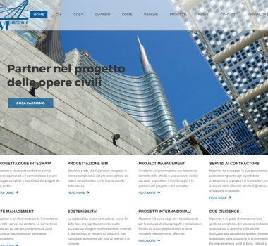 Mpartner – Web Site