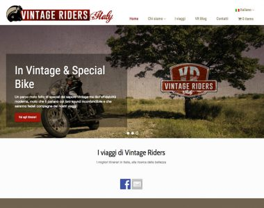 Vintage Riders – Web Site