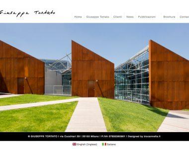 Giuseppe Tortato Architetto – Web Site