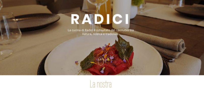 Radici Restaurant- Web Site